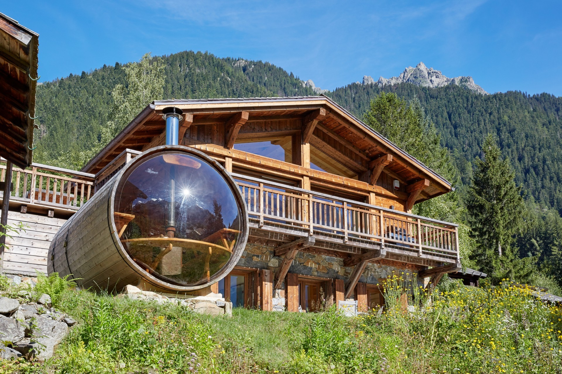 Chamonix Chalet Eco Lodge