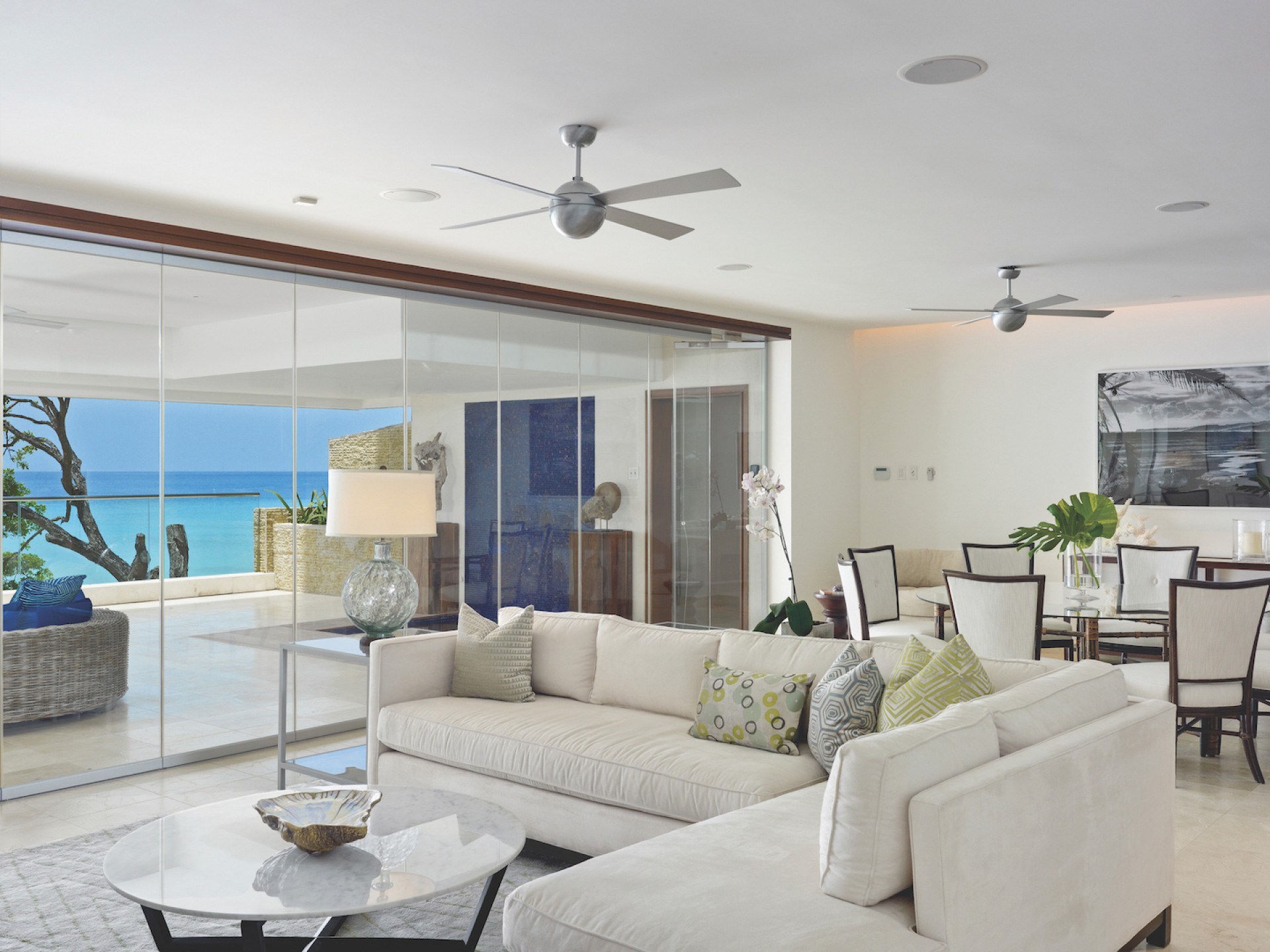 Beachfront Luxury Villas Barbados- Portico 1