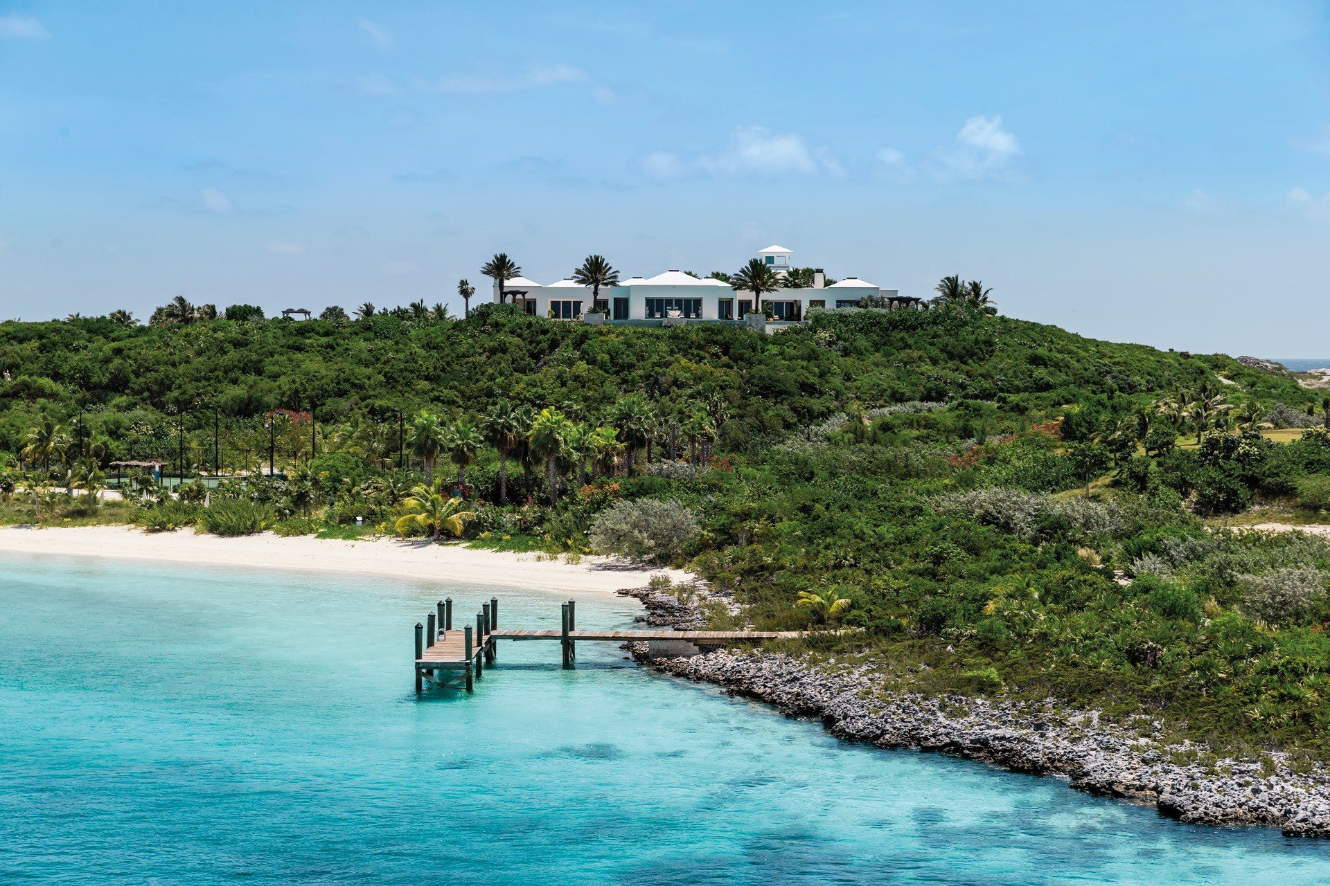 Over Yonder Cay private island Bahamas Exuma