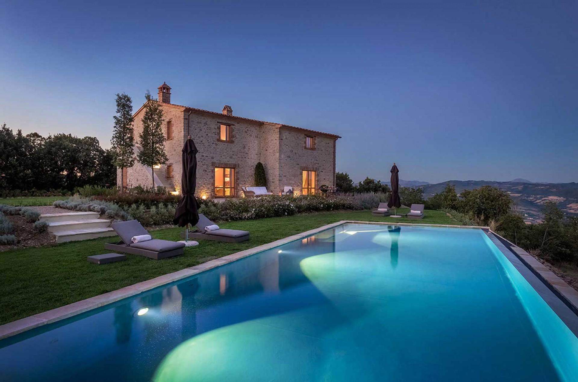 Umbria Villa Panoramico Tuscany Italy