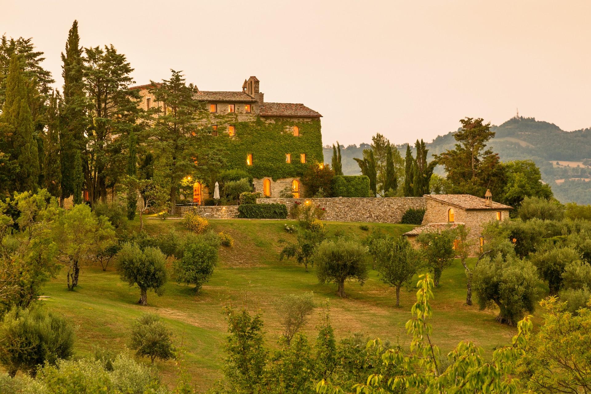 Villa Borgo Palmentino Umbria Tuscany Italy