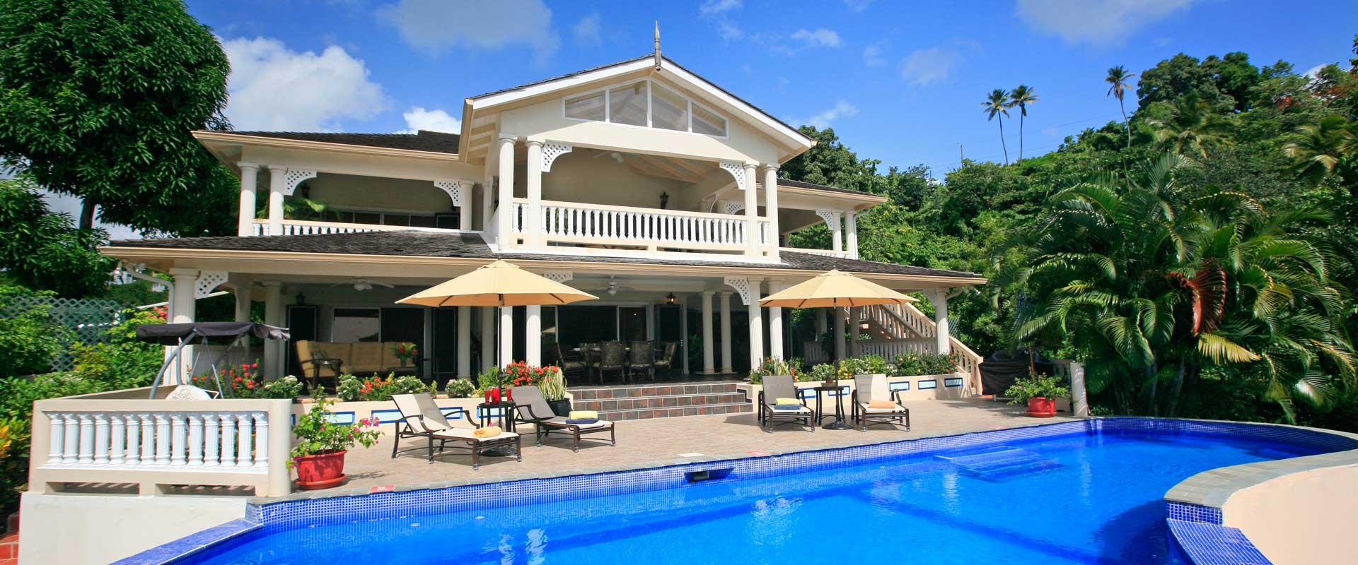 Ashiana Villa Ashiana St Lucia Isle Blue