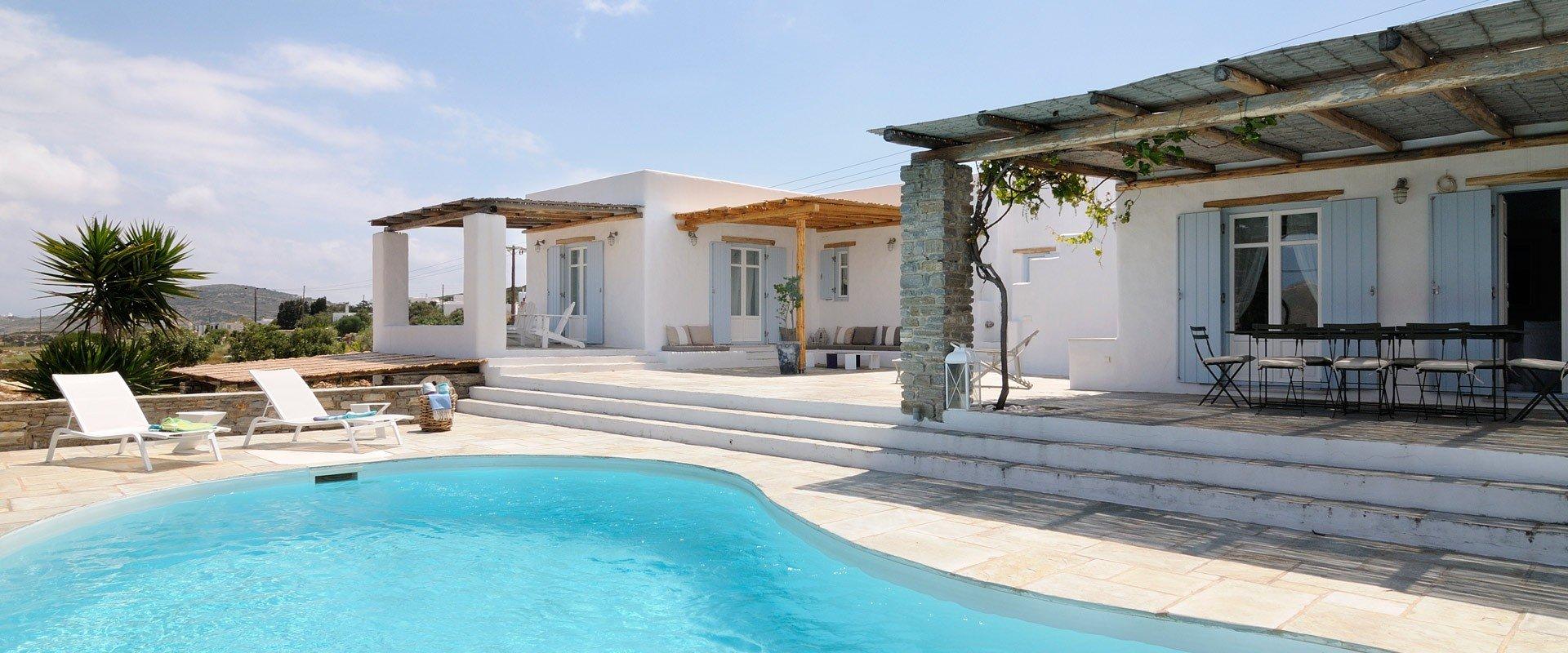 White Villa White Greek Islands Isle Blue