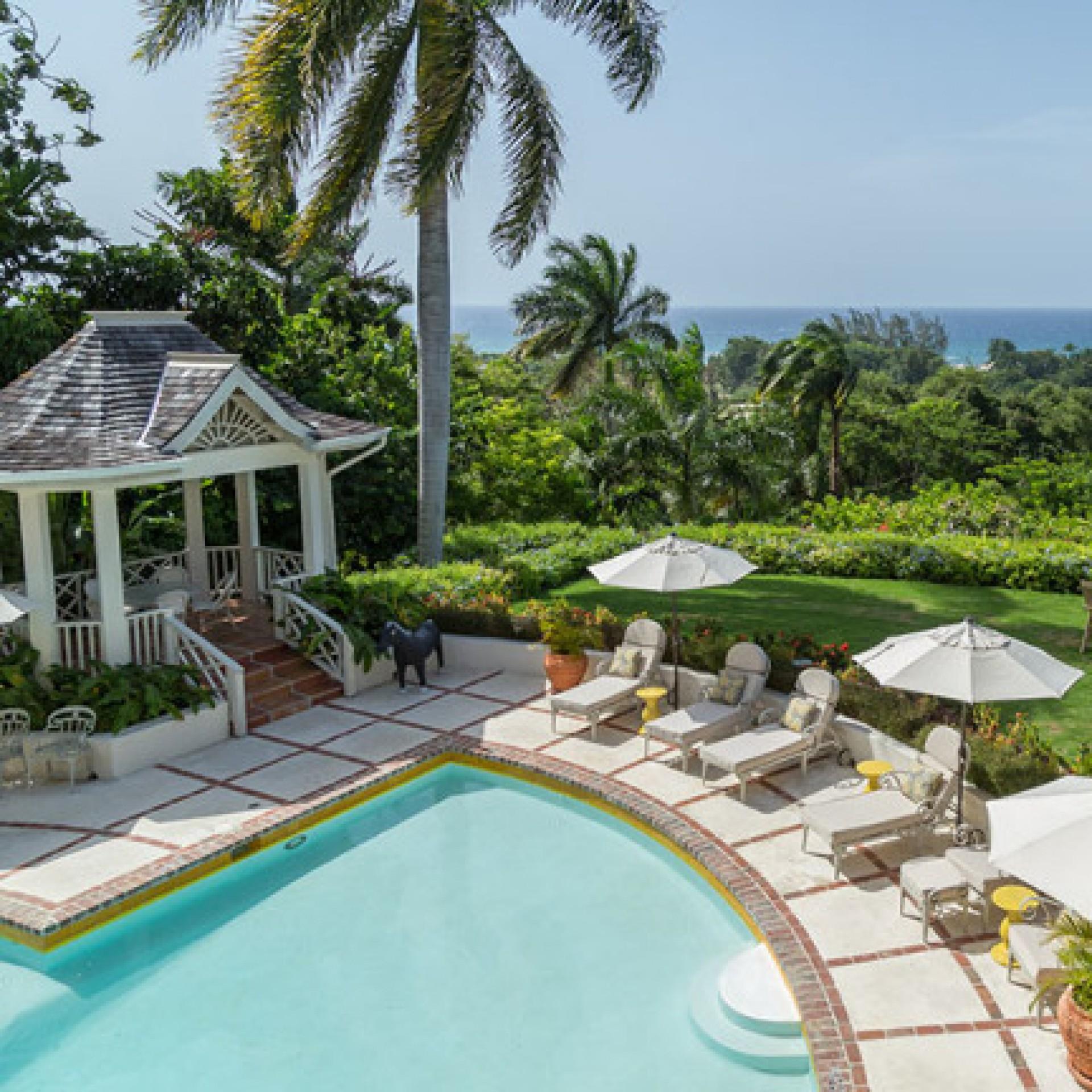 Pineapple house at tryall villa pineapple house at tryall jamaica isle blue - Villa de reve pineapple jamaique ...