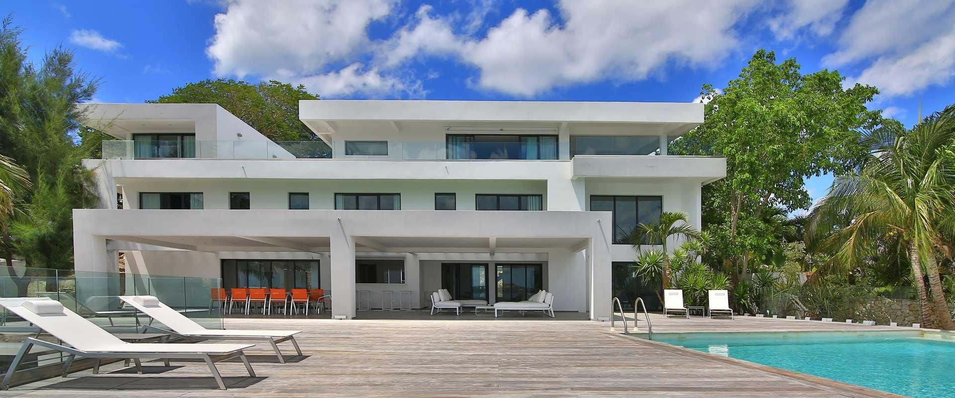 The Reef Villa The Reef St Martin Isle Blue