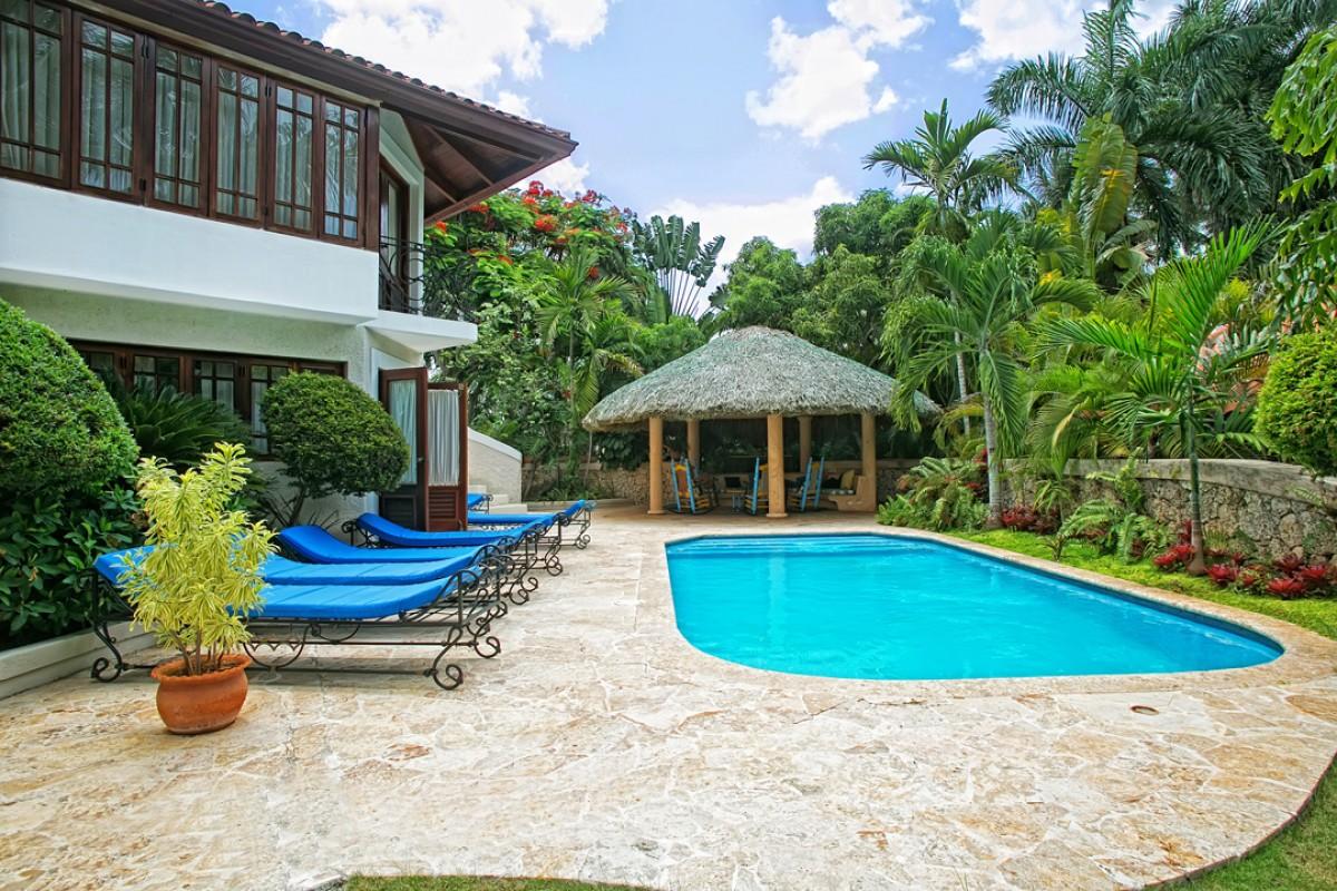 Terraza Villa Terraza Casa De Campo Isle Blue