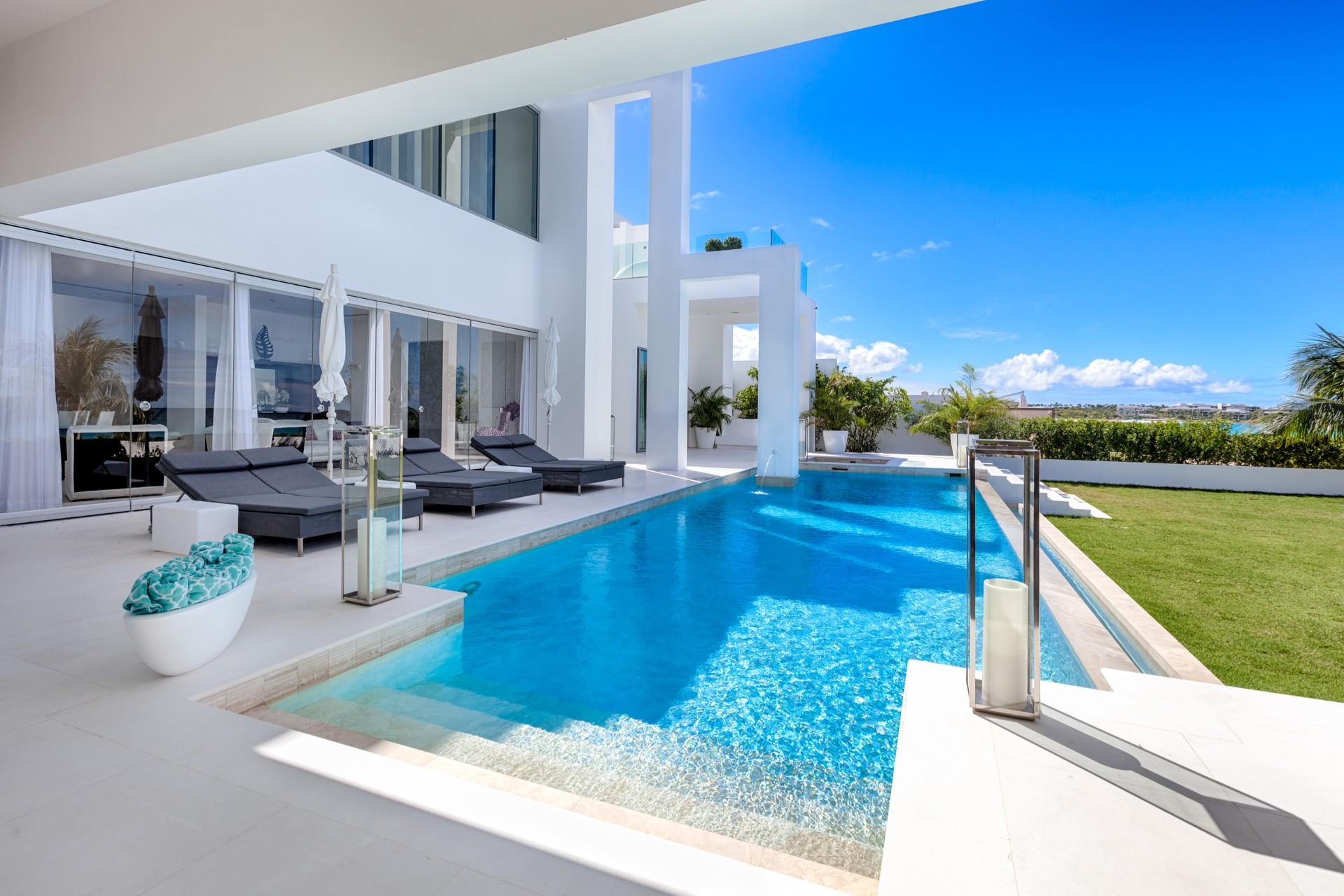 the beach house anguilla villa the beach house anguilla anguilla isle blue. Black Bedroom Furniture Sets. Home Design Ideas