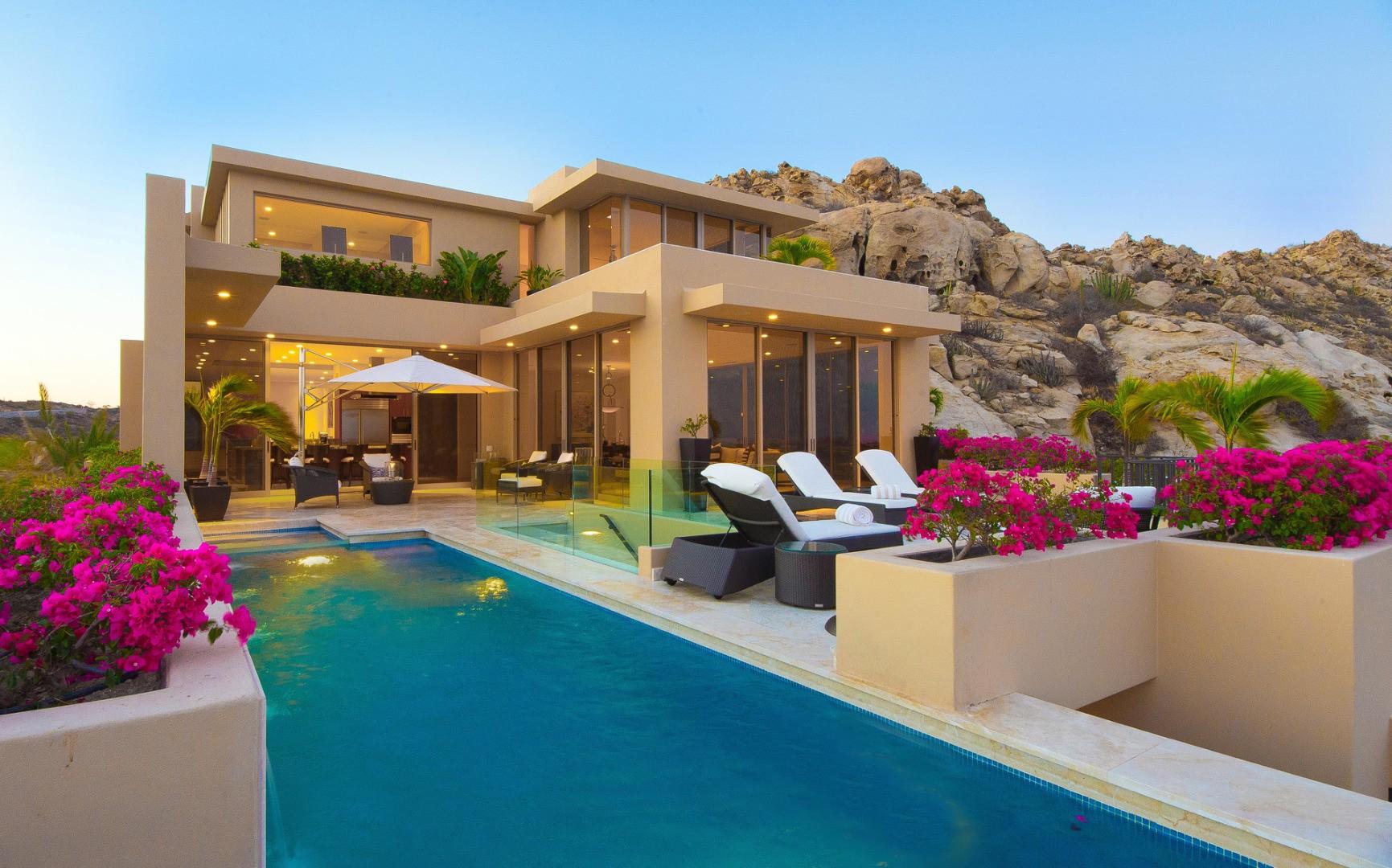 Pacific west villa pacific west los cabos isle blue for Villas los cabos