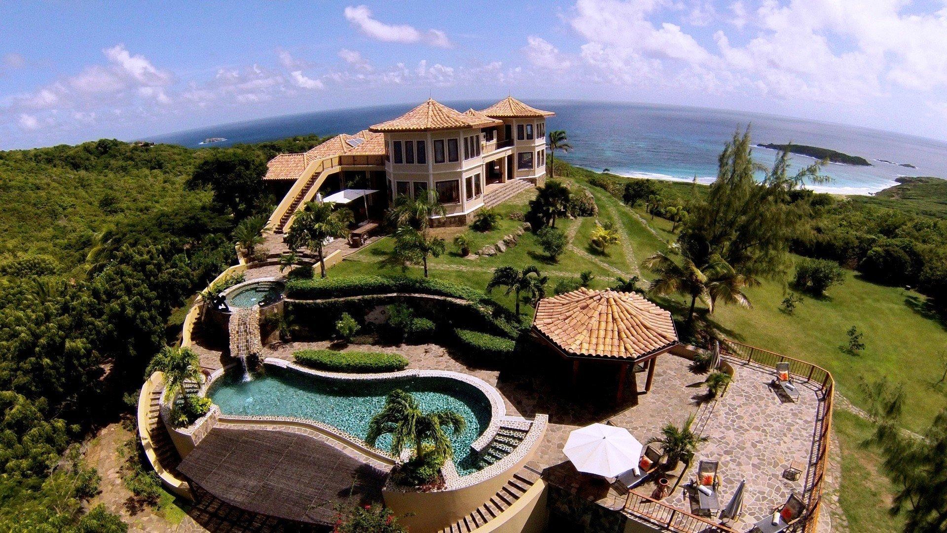 Paradiso Villa Paradiso Mustique Isle Blue