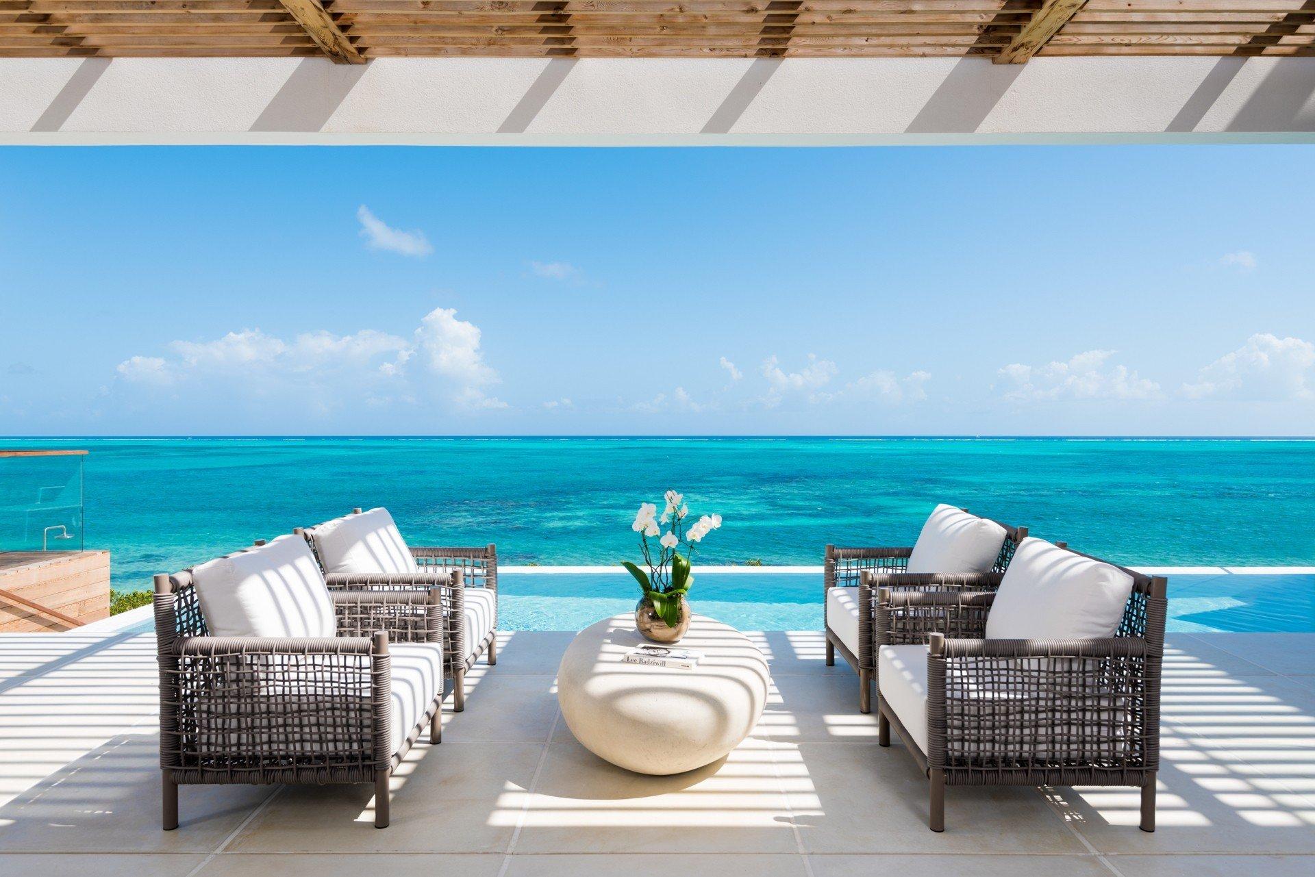 Beach Enclave Beachfront Villa Turks Caicos Isle Blue