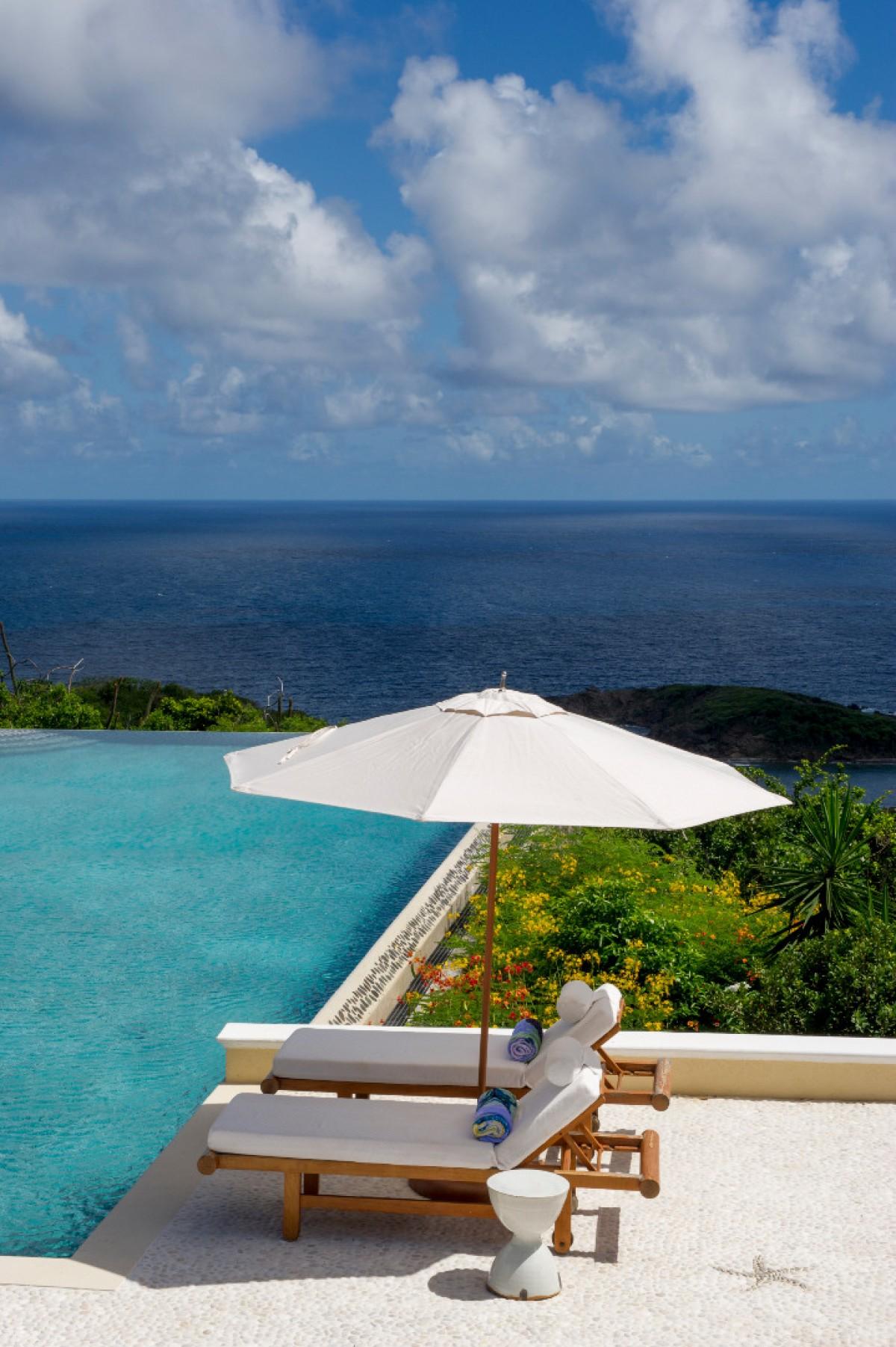 Ocean Breeze Villa Ocean Breeze Mustique Isle Blue