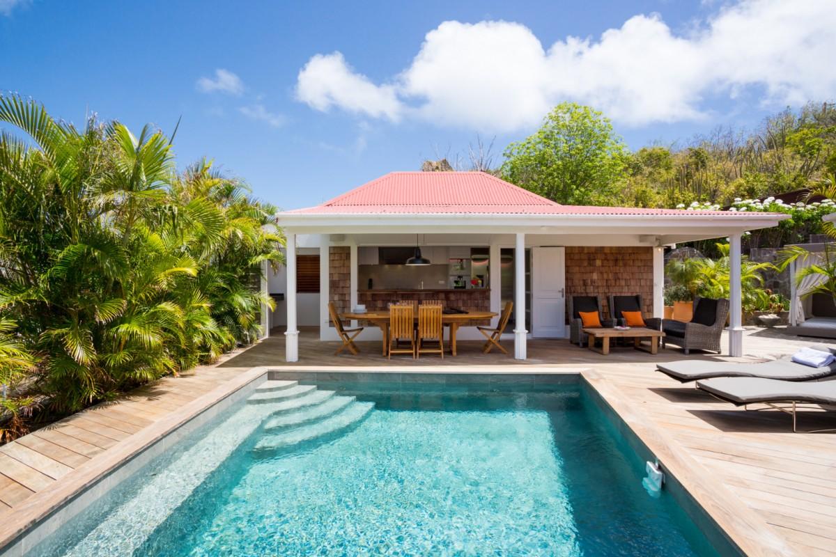 Best Island Beaches For Partying Mykonos St Barts: Villa Xanadu