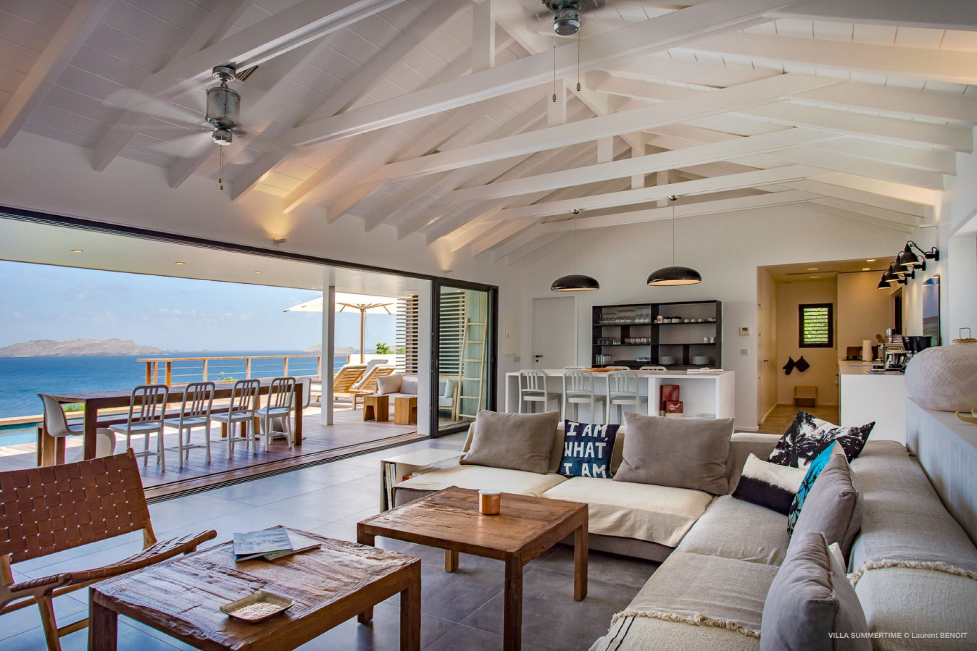 Summertime villa summertime st barts st barths for Villa lotto interior design