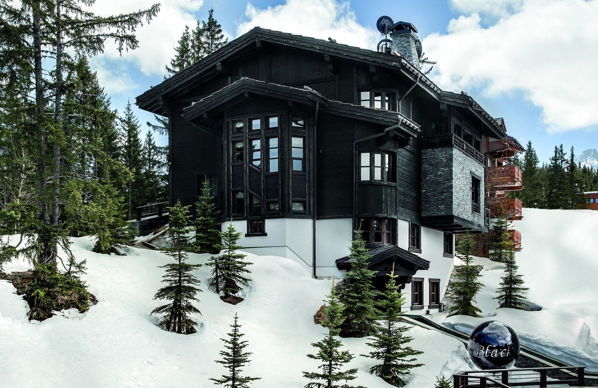 Chalet Black Pearl - Courchevel - villa Chalet Black Pearl ...