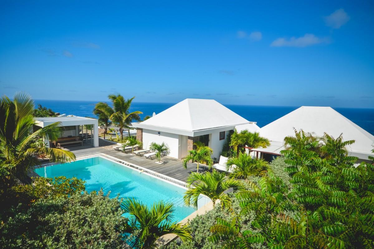 Best Island Beaches For Partying Mykonos St Barts: Villa Arabesque - Pointe Milou