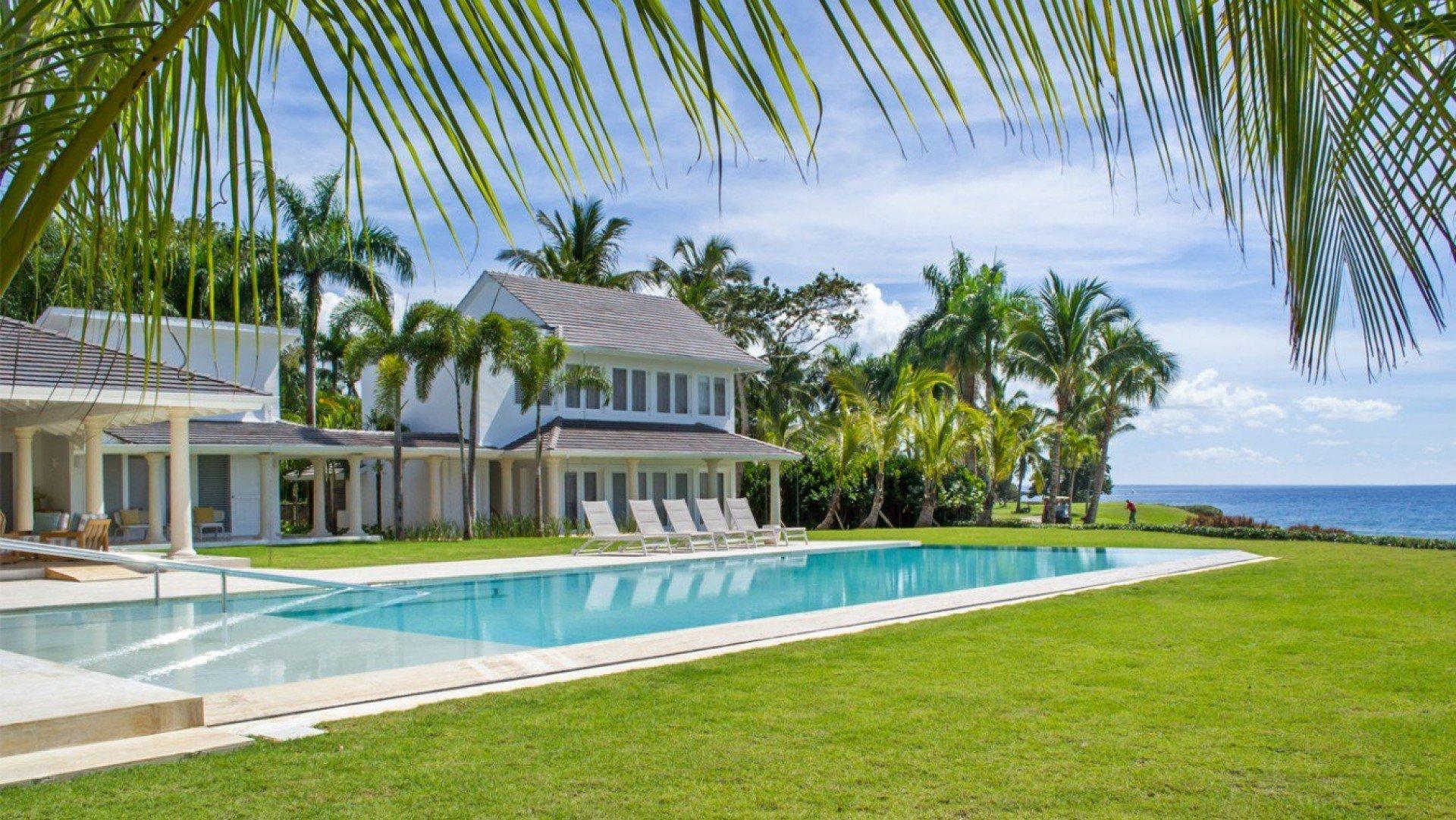 Mar y Palma - villa Mar y Palma Casa de Campo | Isle Blue Casa De Campo Dominican Republic Map on