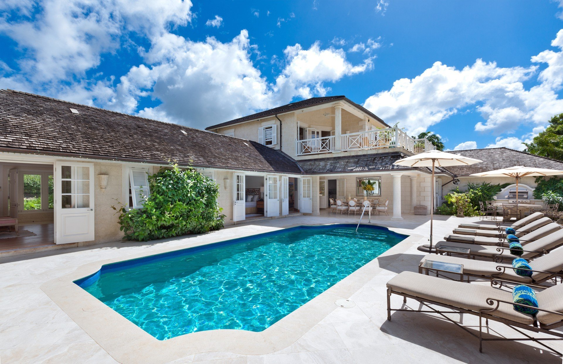 Hamble House Villa Hamble House Barbados Isle Blue