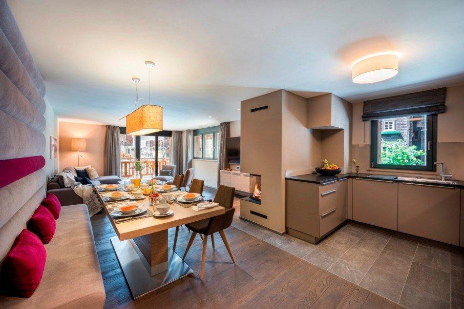 Zermatt Villas - Christiania Apartment 3 - Zermatt Village - Switzerland | Luxury Vacation Rentals