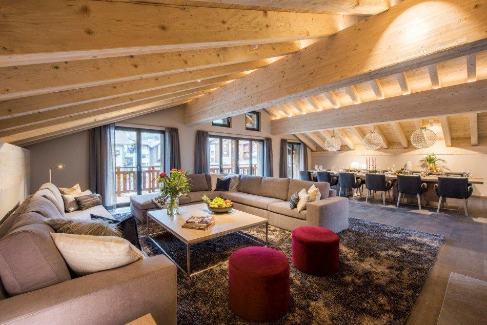 Zermatt Villas - Christiania Penthouse - Zermatt Village - Switzerland | Luxury Vacation Rentals