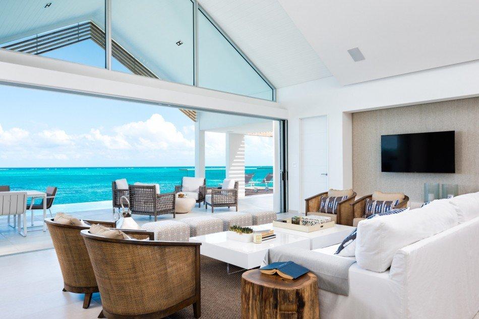 Turks & Caicos Villas - Beach Enclave North Shore - Villa 5 - Babalua Beach - Caribbean | Luxury Vacation Rentals