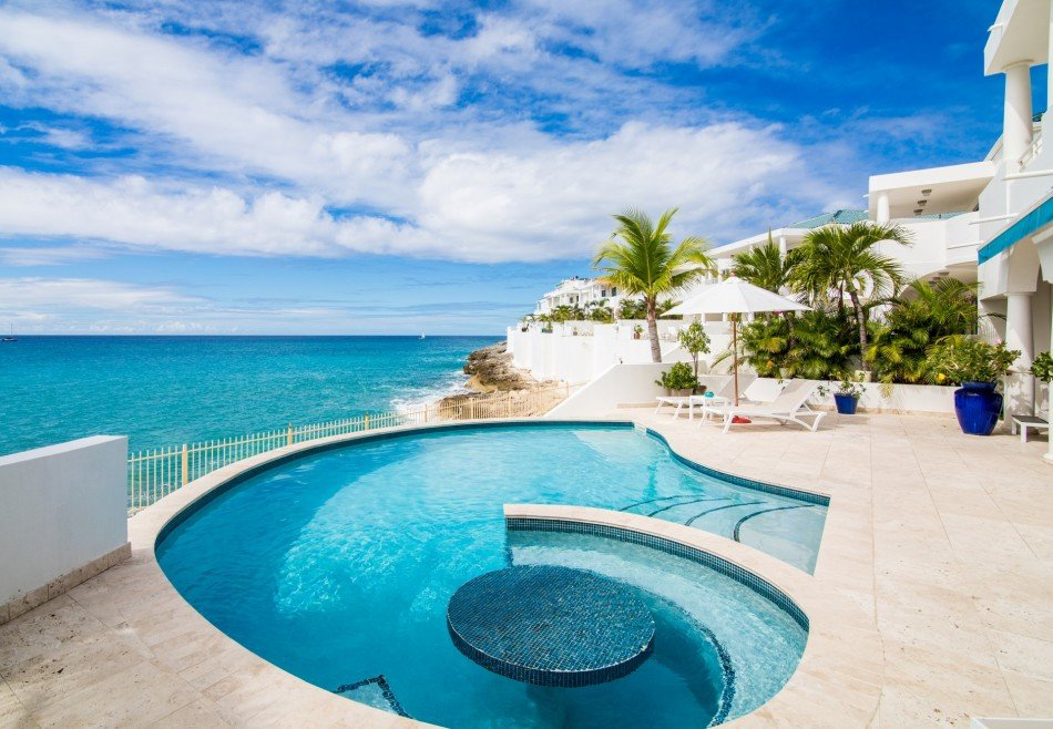 Cupecoy Villas - Blue Shore - Cupecoy - Caribbean | Luxury Vacation Rentals