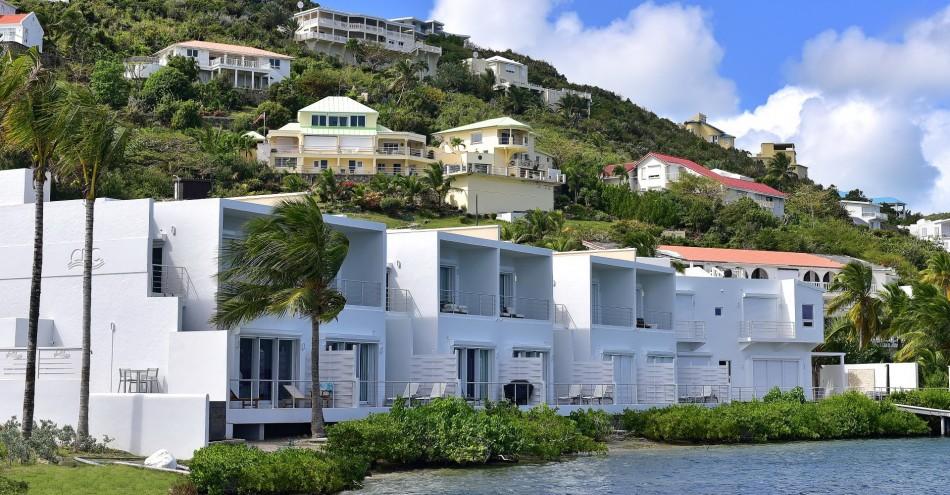 Dawn Beach Villas - Coral Beach Club - 2BR Marina View Townhouse - Dawn Beach - Caribbean | Luxury Vacation Rentals