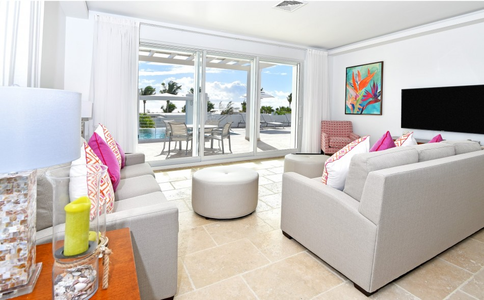 Dawn Beach Villas - Coral Beach Club - 3BR Beach View Villa - Dawn Beach - Caribbean | Luxury Vacation Rentals