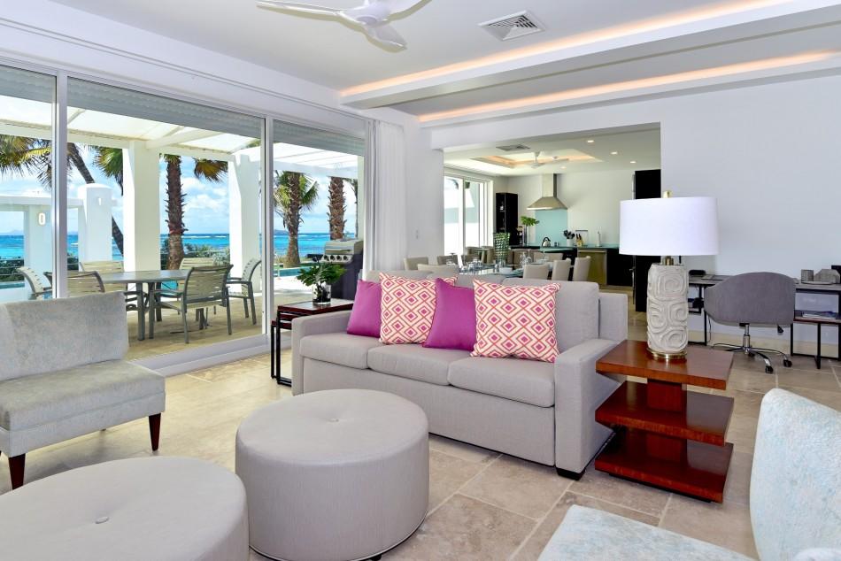 Dawn Beach Villas - Coral Beach Club - 3BR Beachfront Villa - Dawn Beach - Caribbean | Luxury Vacation Rentals