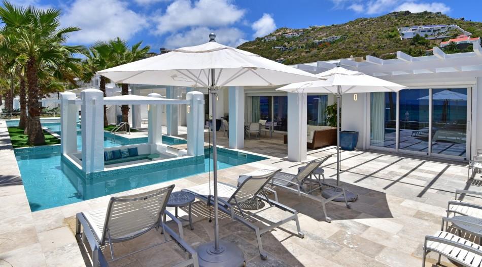 Dawn Beach Villas - Coral Beach Club - 4BR Beachfront Villa - Dawn Beach - Caribbean   Luxury Vacation Rentals