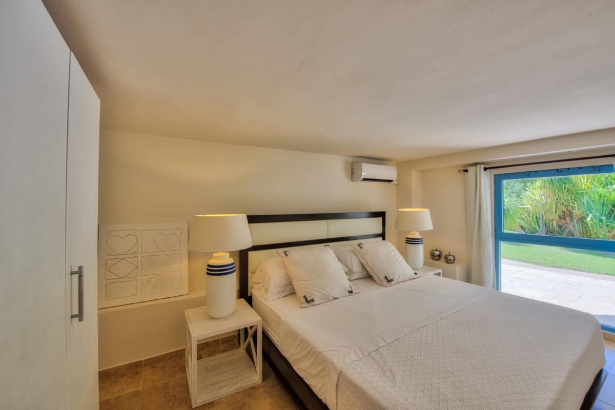 Blue Palm Villa St Martin Esprit Sheet Set Lily King Size Location