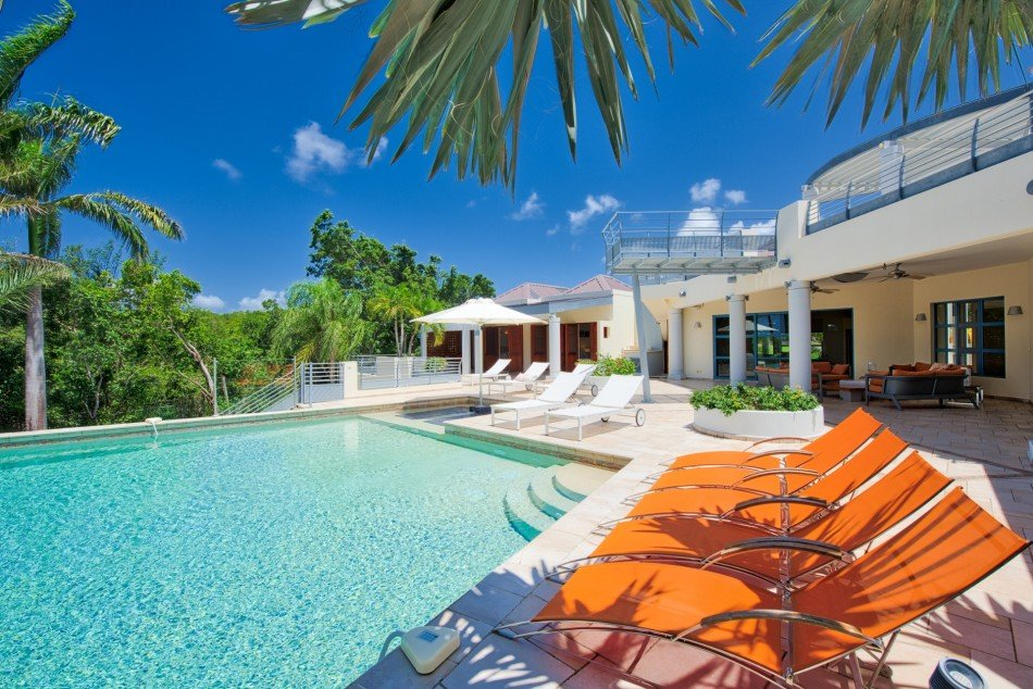 Plum Bay Beach Villas - Les Palmiers Bleus - Plum Bay Beach - Caribbean | Luxury Vacation Rentals